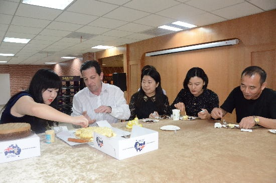 Cake Presentation in Chendu China Sept 2014