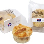 Individual Bread and Butter Pudding Individually Wrapped