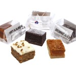 Individual Old Fashioned Brownie Slice Individually Wrapped