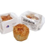 Individual Savoury Cheese and Olive Muffin Individually Wrapped