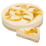 Passionfruit Swirl Cheese Cake