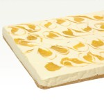 Passionfruit Swirl Cheesecake Tray
